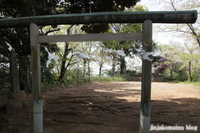 新明神社(横浜市港北区綱島東)2