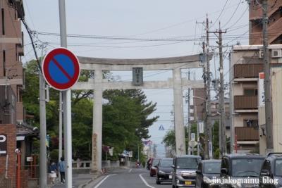 尾張大国霊社(稲沢市国府宮)1