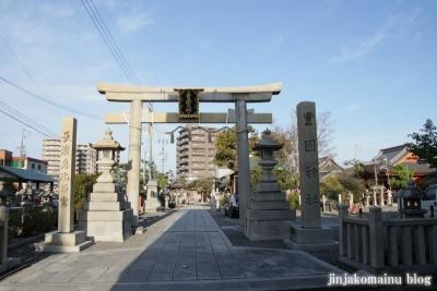 豊国神社(長浜市南呉服町)1