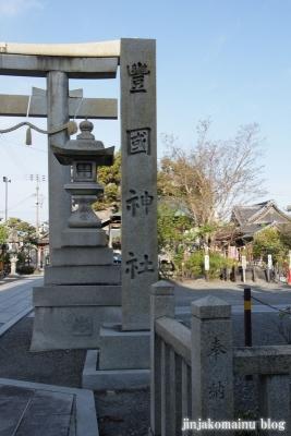 豊国神社(長浜市南呉服町)2