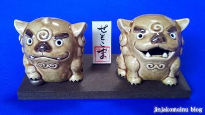 狛犬さんオンパレード1