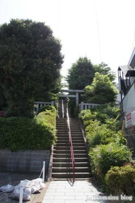 新明神社(横浜市神奈川区三枚町)1