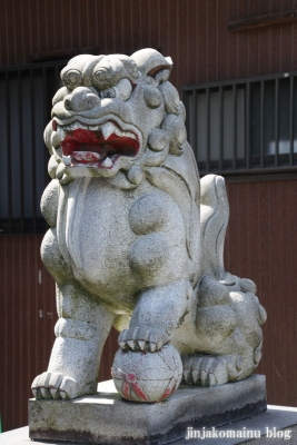 新明神社(横浜市神奈川区三枚町)8
