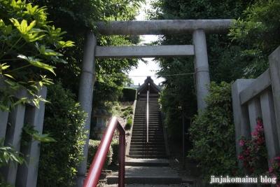 新明神社(横浜市神奈川区三枚町)2