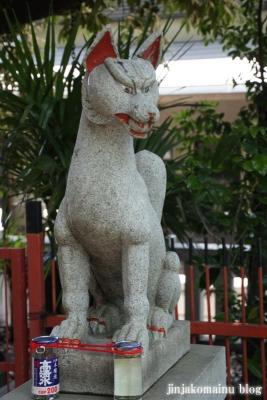 笠のぎ稲荷神社(横浜市神奈川区東神奈川)6