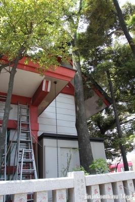 笠のぎ稲荷神社(横浜市神奈川区東神奈川)10