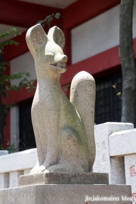笠のぎ稲荷神社(横浜市神奈川区東神奈川)11