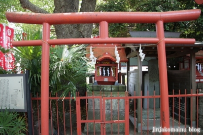 笠のぎ稲荷神社(横浜市神奈川区東神奈川)17