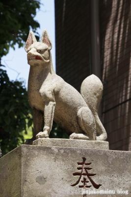 銀太郎稲荷神社(横浜市神奈川区東神奈川)2