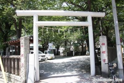 新明宮(横浜市神奈川区東神奈川)1