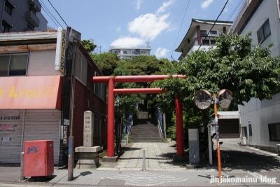 大綱金毘羅神社(横浜市神奈川区台町)1