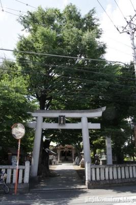 杉山神社(横浜市西区中央)1