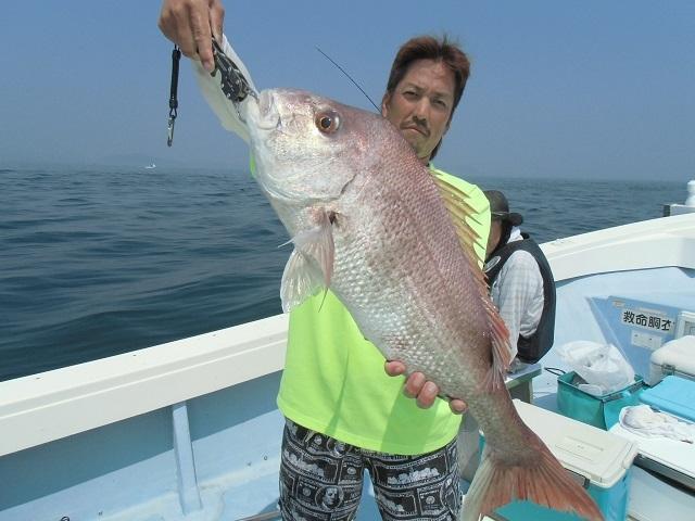 CIMG1154 船長 鯛65cm