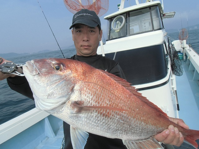 CIMG1136 福井60UP鯛