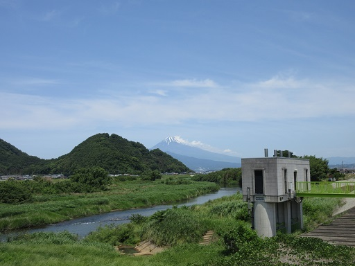 往路富士山