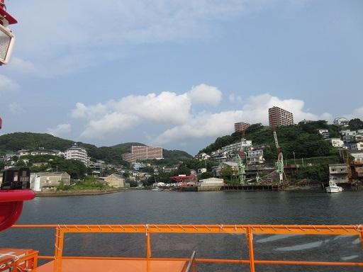 船上より小菅修船場跡