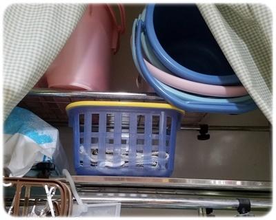 洗濯機の収納ラックの断捨離後