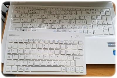 ノートパソコンキーボード比較