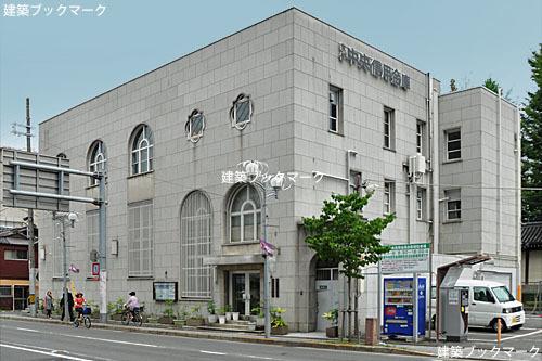 京都中央信用金庫(旧不動貯金銀行七条支店)