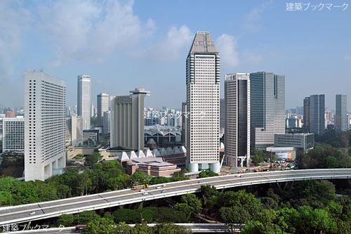 シンガポール・フライヤーからの風景