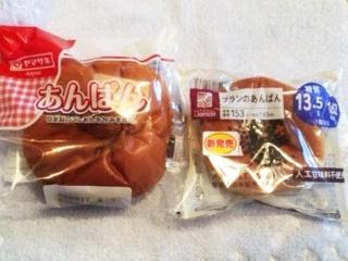 あんパン比較