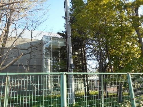 札幌学院大 第2キャンパス 電柱