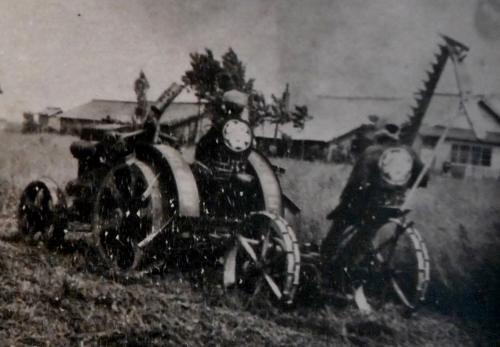 丘珠町Nさん所蔵 谷口農場古写真 トラクター