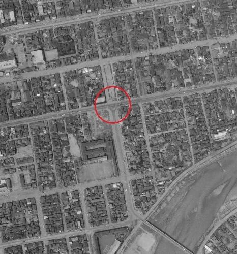 空中写真1961年国土地理院 大通東7丁目