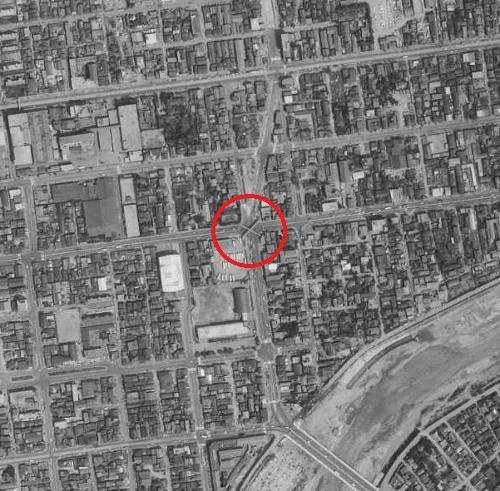 空中写真1971年国土地理院 大通東7丁目
