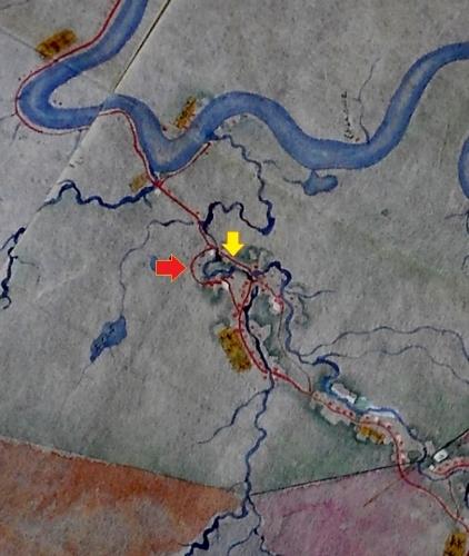 札幌郡各村地図 丸〆街道拡大
