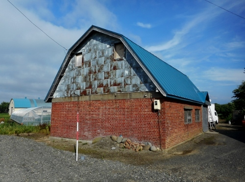 拓北 Fさん宅煉瓦造 納屋