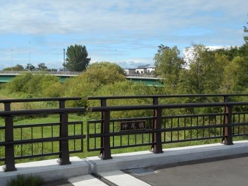 厚別川 神尾橋