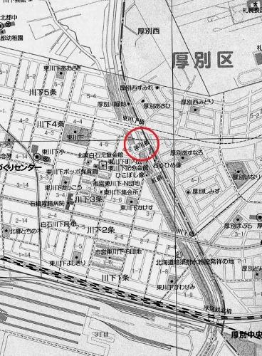 神尾橋 現在図