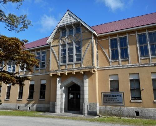 林木育種場 旧庁舎 ファサード