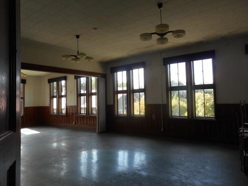 林木育種場旧庁舎 2階室内