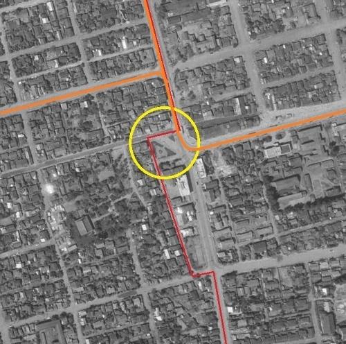 国土地理院空中写真1961年 南2西20周辺