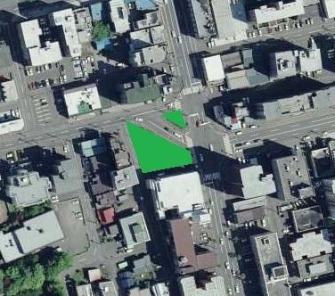 2008年空中写真 南2西20周辺