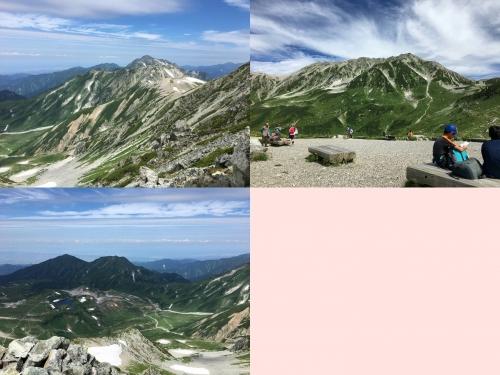 武者修行 山頂の風景