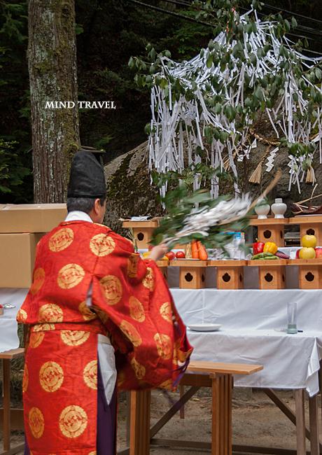 磐船神社 十種祭 お祓い