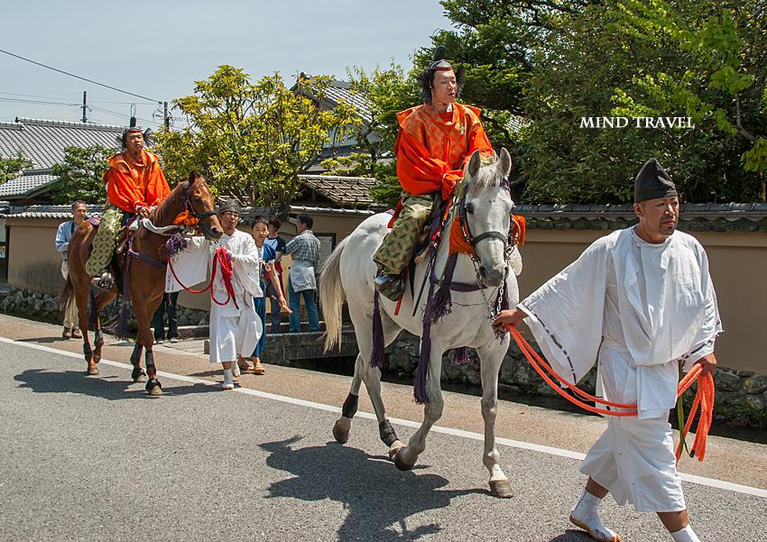 上賀茂神社 競馬-行列