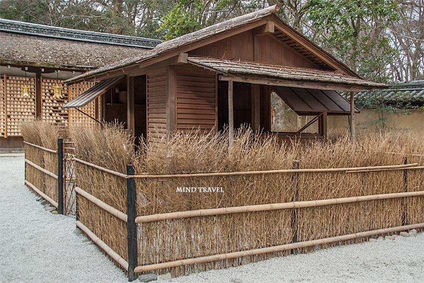 河合神社 復元された鴨長明の方丈