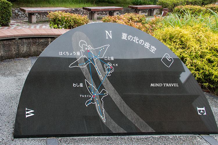 観音山公園付近 石碑