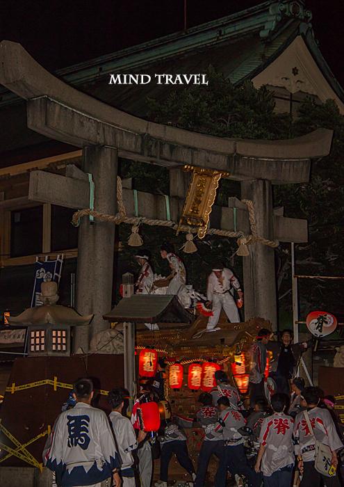 杭全神社 夏祭 だんぢり5