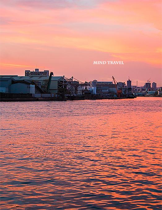 千本松渡船場付近