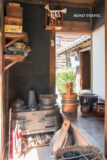 浦安市郷土博物館 レトロなレンジ
