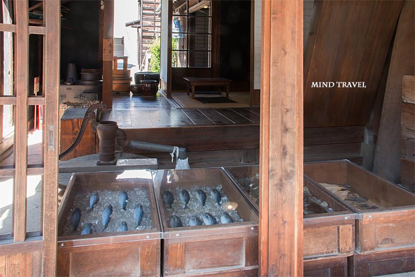 浦安市郷土博物館 魚屋