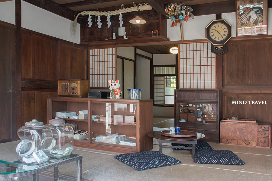 浦安市郷土博物館 たばこ屋 中