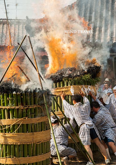 ほうらんや火祭り 八幡神社4