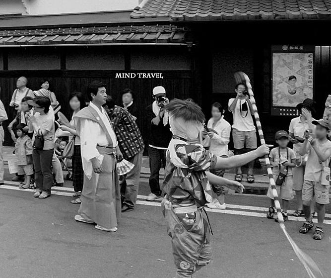 祇園祭 棒振り