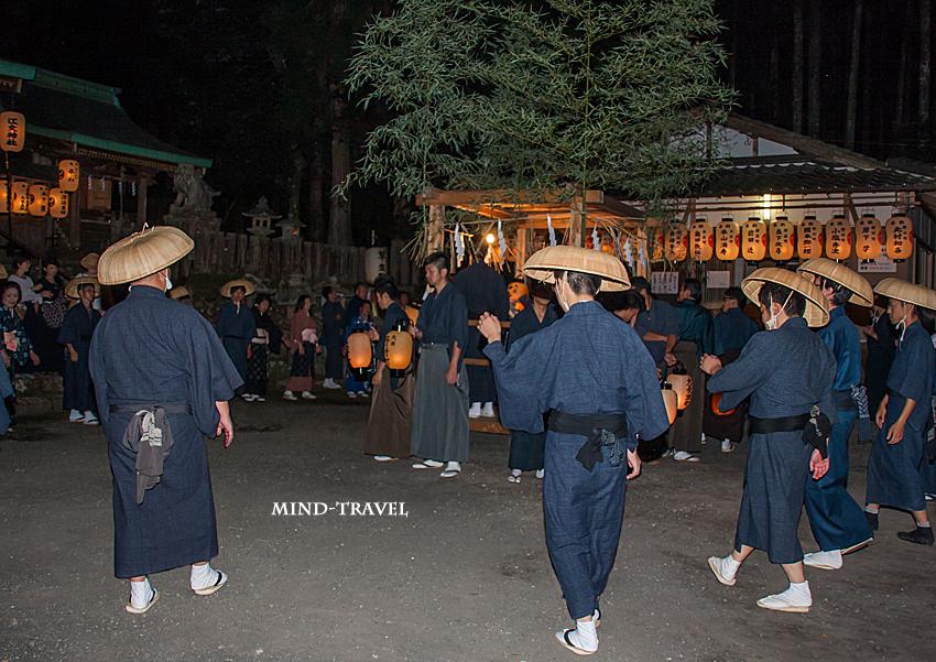 江文神社 八朔踊